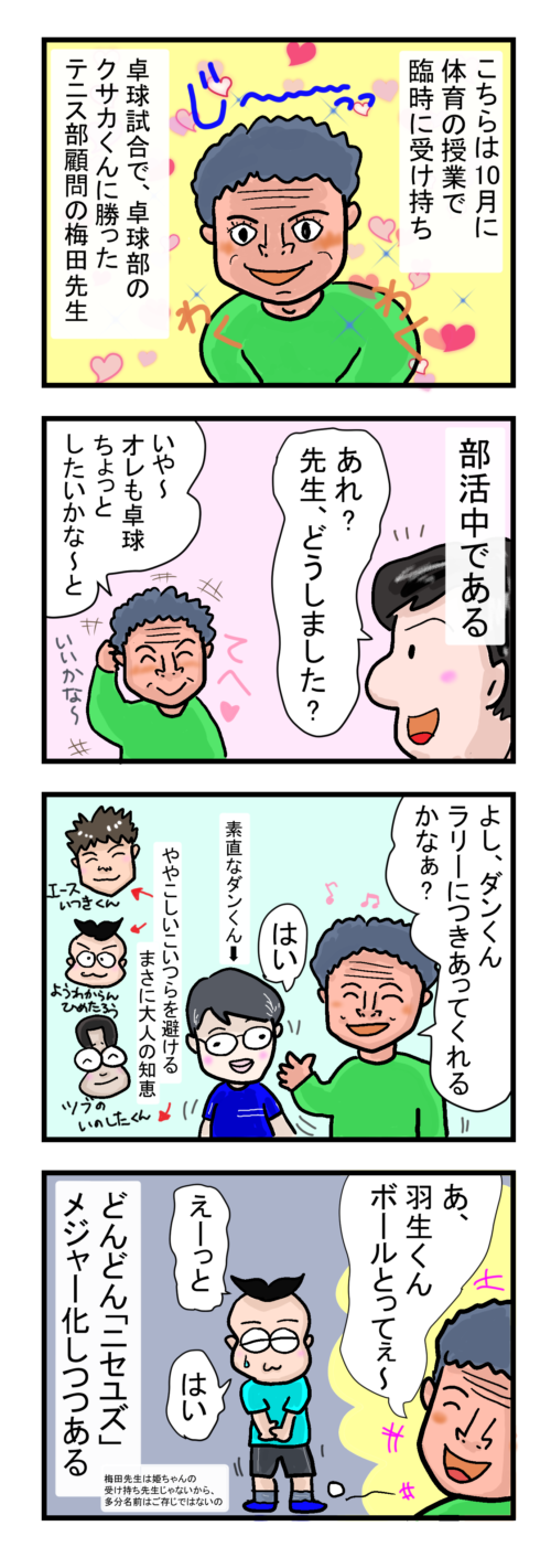 楽しい梅田先生